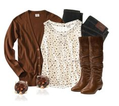 Mocha Latte by qtpiekelso on Polyvore featuring Mossimo, D&G and Steve Madden