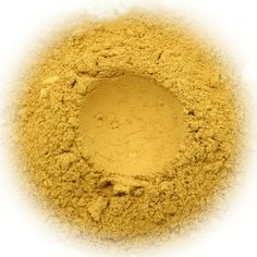 5g Mineral Eye Shadow - Florida - Sunny Yellow With Suede Finish. $6.00, via Etsy.