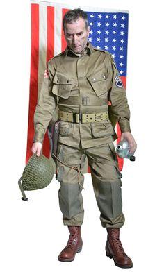 WW2 American Paratrooper Uniform