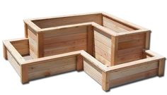 Cottage Range - Tiered Corner Raised Planter Box - ListSellTrade