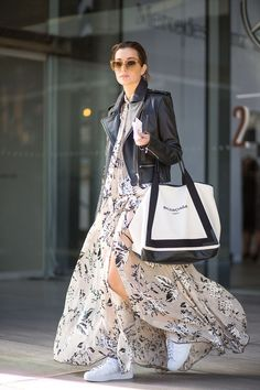 The Land Down Under: Street Style From Australian Fashion Week - http://HarpersBAZAAR.com