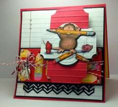 """""""A Back To School Pencil Nibbler"""" by America Kuhn on House-Mouse Designs®"""