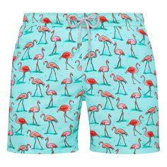 Arthur Green Flamingo Swim Shorts