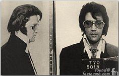 Elvis Presley Mugshot Denver Police