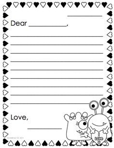 Teacher Idea Factory: PEN PAL NEWS + FRIENDLY LETTER FREEBIE ...