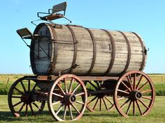 Antique Water Wagon