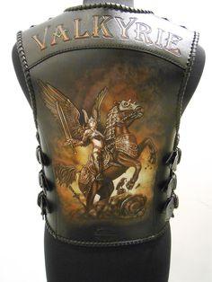 Leather Working Patterns, Biker Vest, Harley Bikes, Leather Art, Tattoo Stencils, Rockabilly Fashion, Bike Accessories, Leather Jackets, Chopper