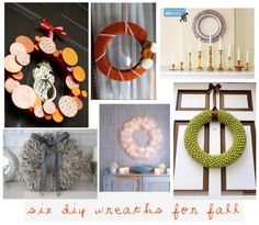 great DIY wreaths for fall