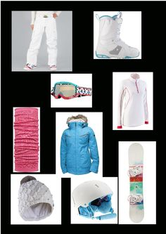 All the snowboarding gear you could possibly ever need <3