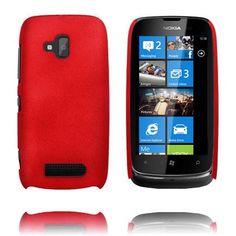 Hard Shell (Rød) Nokia Lumia 610 Cover