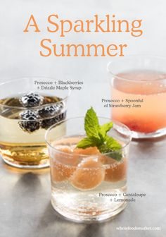 Make this summer sparkle with easy prosecco cocktail recipes!
