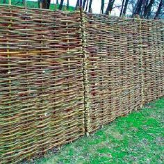 Log Fence Ideas | only cry out for borders. Timber fencing is the oldest type of fencing ...