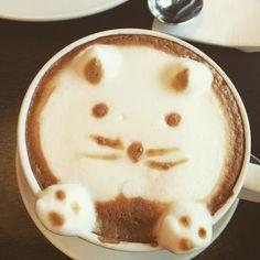 The #cutiest #coffee #latte ever #mademyday  #radisson #radissonblue #tallinn #estonia #worktrip #work #business #coffeelovers #cat #catsofinstagram