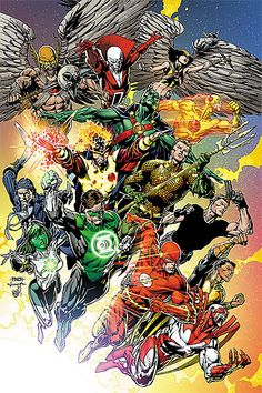 DC-COMIC - Brightest Day/Dia Brillante (Green Lantern (Hal Jordan), Flash, Martian, Manhunter, Aquaman, Hawkman, Hawkwoman, Firestorm, Deadman, Jade, Osiris, Hawk, Maxwell, Lord, Zoom, Captain, Boomerang, Finch - See more)