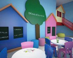 Playroom Design Tips Kids Bedroom Designs, Playroom Design, Kindergarten Interior, Nursery Modern, Modern Nurseries, Nurseries Baby, Starting A Daycare, Cute Furniture, Old School House