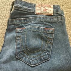 Bootcut jeans Great condition bootcut trues! Bought online didn't realize no stretch: ( True Religion Jeans Boot Cut