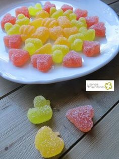 Chuches de Gominola con Thermomix | Libros gratis de recetas con Thermomix. Recetas y accesorios Thermomix Wrap Recipes, Sweet Recipes, Bellini Recipe, Homemade Jelly, Thermomix Desserts, Food Humor, Dairy Free Recipes, Food And Drink, Bonbon