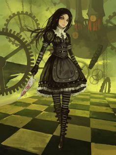 Alice:Madness Returns - Alice: Madness Returns Fanclub Fan Art (32195659) - Fanpop
