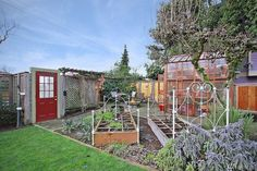 fantastic garden & greenhouse. 6513 sunnyside ave N, green lake. 6K lot with 1900 victorian farm house (crappy remodel, but could easily salvage)