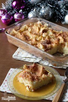 Preguiça de fritas as rabanadas? Faz essa versão no forno que fica incrivelmente deliciosa! Torta Rabanada!!!