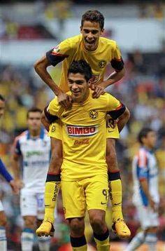 raul jimenez and diego reyes! #club America Americanista de Corazon :)