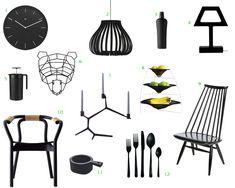 black-accessories-home-furnishings