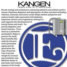 Many, many benefits of #Kangen #Water.