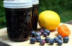 Blueberry Lemon Habanero (& Jalapeno) Jam