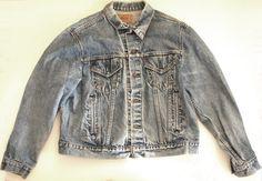 Vintage 80s 90s Levis Denim Jacket by SycamoreVintage on Etsy, $34.00
