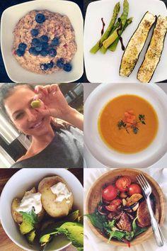 Zdrowy i aktywny dzień według #Ann » healthy plan by ann Fresh Rolls, Hummus, Hamburger, Gluten Free, Ethnic Recipes, Kitchen, Glutenfree, Cooking, Kitchens
