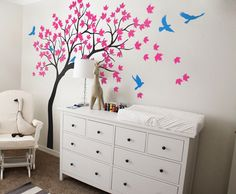 The best gift for mommy and baby... beautiful nursery wall decal.. #Gift #nursery #walldecal #fancy #roomdecor #blogging #pintersert #mom #kid