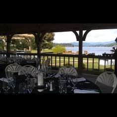 Lakeside Pavilion rehearsal dinner at The Ridges Resort & Marina in North Georgia #Wedding Venues in Georgia