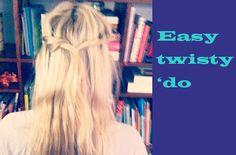 Easy hairdo to do!