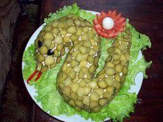Вкусненькие салаты очень просто