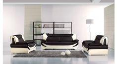 AE209 Leather Sofa Set