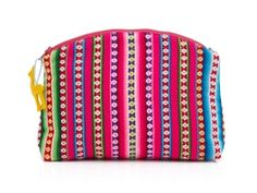 For Women, By Women: Global Goods Partners Peruvian Textile Cosmetic Pouch