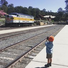 Little man found my old phone and claimed it for my own. I deleted everything except an app for our library and the camera. Love getting to look at life through his eyes. He definitely loves trains! . . . #grandcanyon #nationalpark #thislandisyourland #outsideeveryday #adventurefamily #getoutstayout #bornwild #optoutside