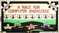 Computer Lab: A Race For Computer Knowledge Bulletin Board