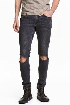 Super Skinny Trashed Jeans