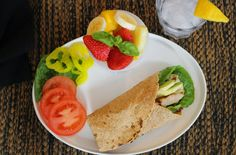 Lemon Grass and Green Tea Blog Fast and Easy Grilled Chicken Wrap with Southwestern Dressing