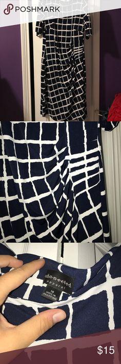 Navy blue and white dress💕 Navy blue and white dress💕 Dresses Midi