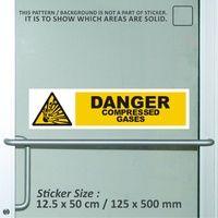 sticker safety sign K3 bekasi murah danger compres