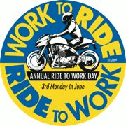 ride to work, motorcycle