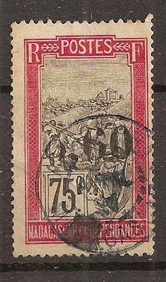 COLONIES FRANCAISES MADAGASCAR N°130 (o) IDENTIQUE AU SCAN