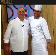 Site Comer Bem São Roque | Vila Don Patto | Chef Valdir Nunes | Daniel Bork | Dia a Dia | Band | Receita Alcachofra | Novembro de 2016.