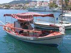 stripes, boats, shade