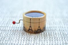 Amelie Music Box Eiffel tower by esdemusica on Etsy