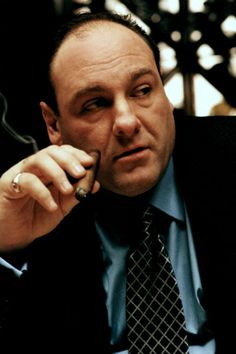 Tony Soprano (James Gandolfini) Los Soprano