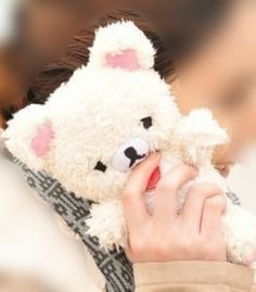 Adorable! (3D Cute Teddy Bear Toy Doll Plush Cover Case For Mobile Smart Phones)