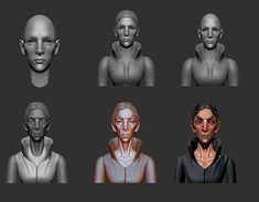 """Check out new work on my @Behance portfolio: """"3d practice, game characters Dishonored2"""" http://be.net/gallery/62278785/3d-practice-game-characters-Dishonored2"""